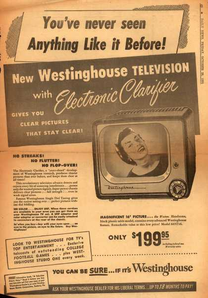 Westinghouse Electric Corporation's Television – You've never seen Anything Like it Before (1951)