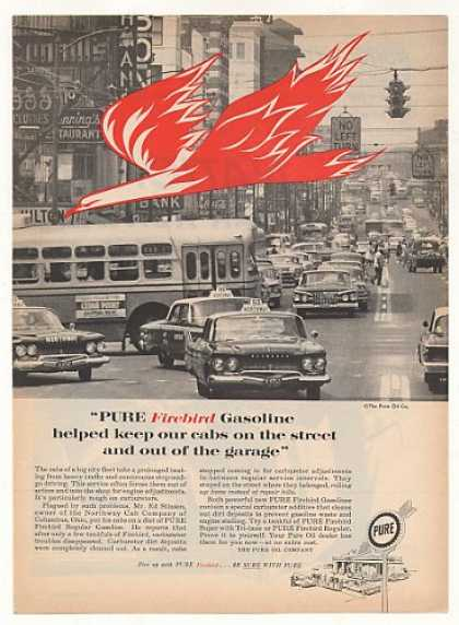 Northway Cab Columbus OH Cabs Pure Firebird Gas (1961)