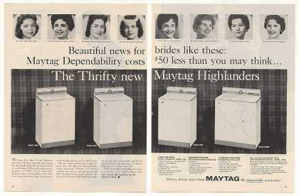 Maytag Highlander Washers Brides (1961)