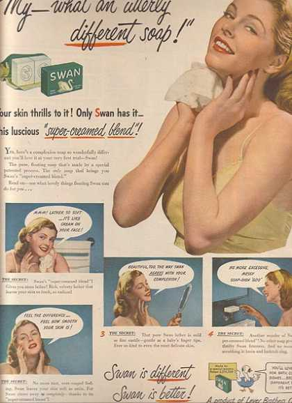 Swan's multi-purpose soap
