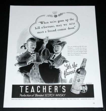 Teacher's Scotch Whisky (1939)