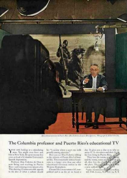 Puerto Rico Educational Tv Don Federico (1960)