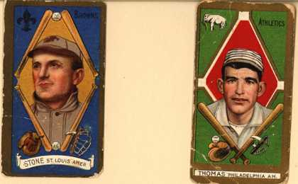 Kinney Bros.'s Sweet Caporal Cigarettes – Baseball Series (long series) – Image 1