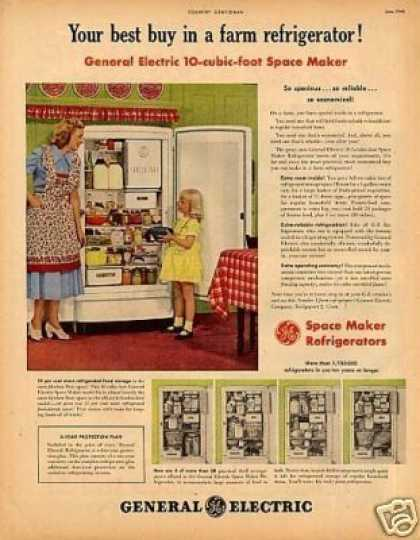 General Electric Refrigerator (1948)