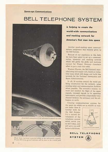 Bell Telephone Project Mercury Space Capsule (1960)