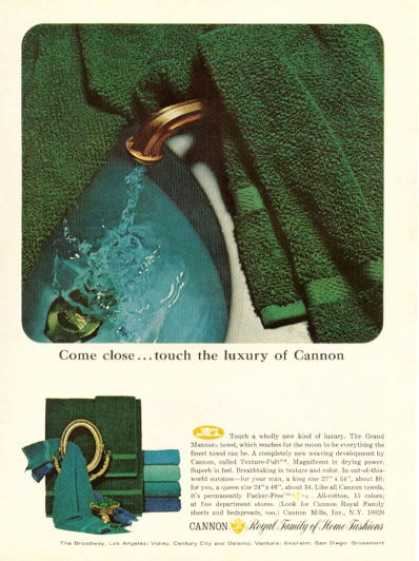 Cannon Grand Manners Towel (1965)