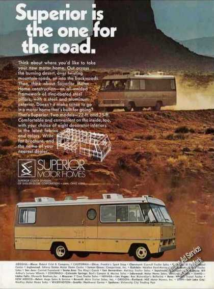 "Superior Motor Homes ""One for the Road"" Photos (1971)"