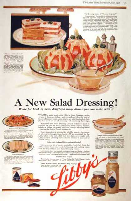 Libby&#8217;s Salad Dressing (1918)