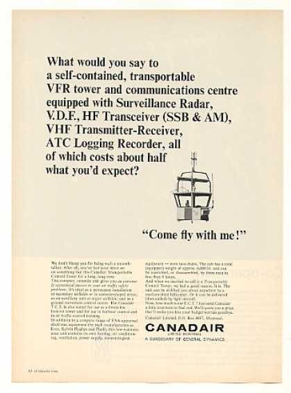 Canadair TCT Transportable Control Tower (1966)