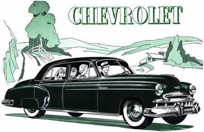 Chevrolet Styleline De Luxe 4-Door Sedan (1949)