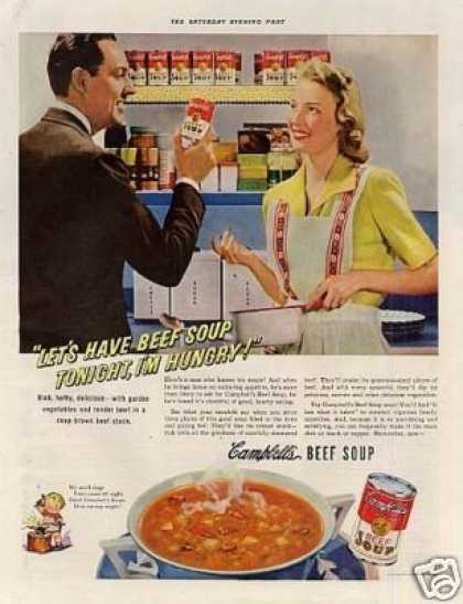 Campbell's Beef Soup (1942)