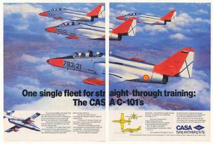 CASA C-101 Jet Trainer Aircraft Fleet (1983)