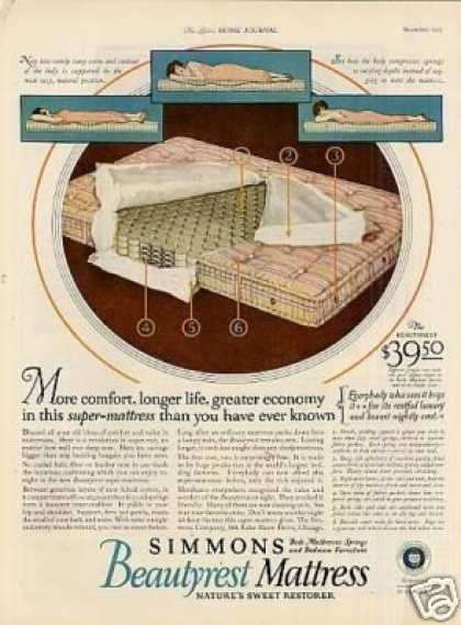 Simmons Beautyrest Mattress (1925)