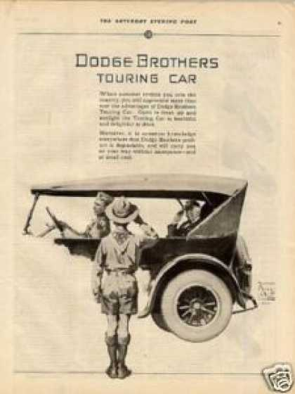 Dodge Brothers Touring Carad (1925)