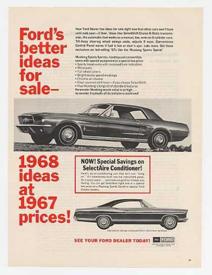 Ford Mustang SS Hardtop & Galaxie 500 (1967)