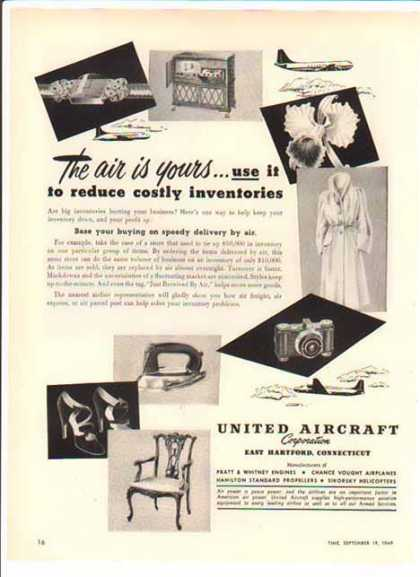 United Aircraft Corp. – Reducing the Cost of Inventories (1949)