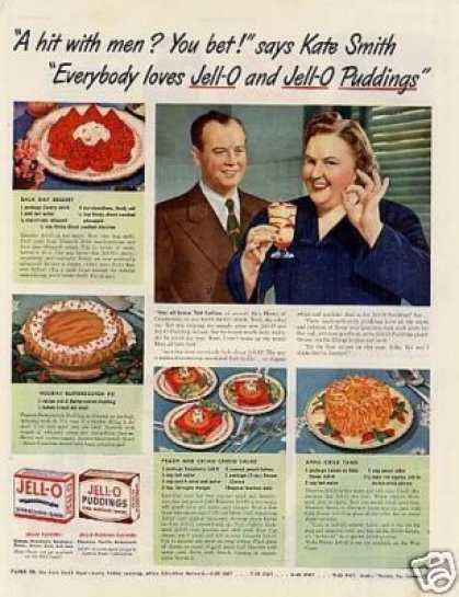 Jello Ad Kate Smith (1942)