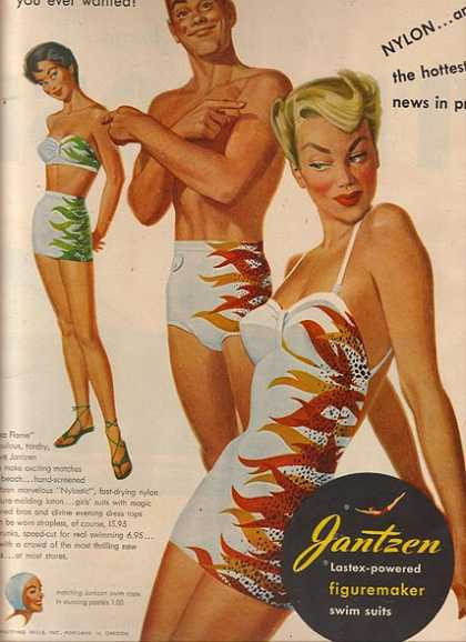 Jantzen's Lastex-powered (1950)