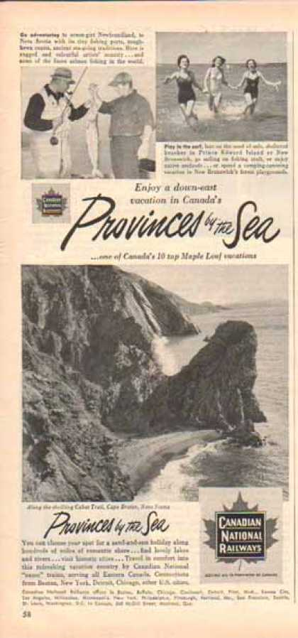 Canadian National Railway – Provinces by the Sea (1951)