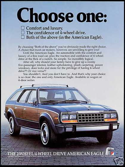 AMC American Motors Eagle Wagon Photo (1984)
