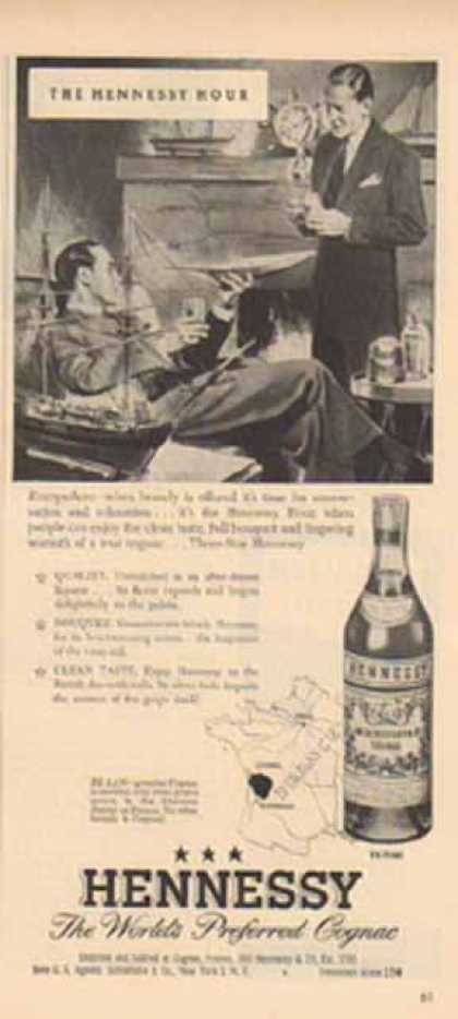 Hennessy Cognac – The Hennessy Hour (1949)