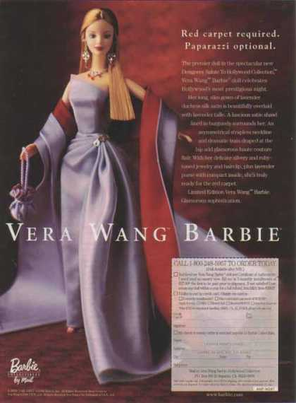 Barbie Doll &#8211; Vera Wang Barbie (1998)