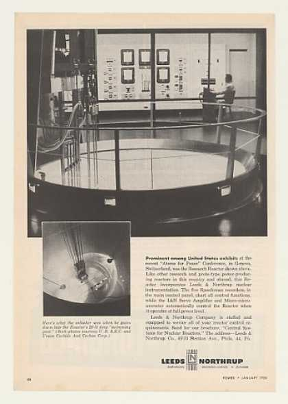 Leeds Northrup Nuclear Research Reactor (1956)