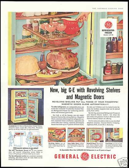 GE General Electric Refrigerator Shelves (1956)