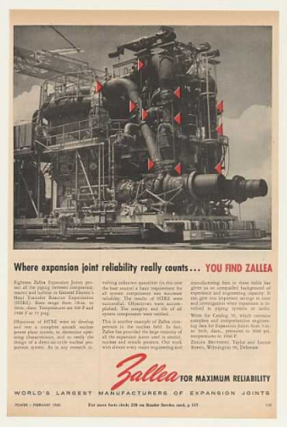 GE HTRE Heat Transfer Reactor Experiment Zallea (1960)