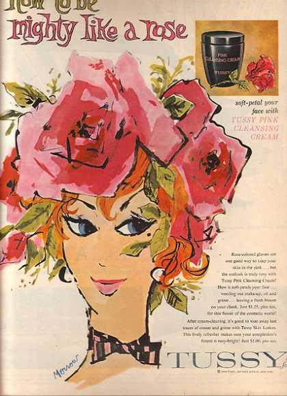 Tussy's Pink Cleansing Cream (1959)