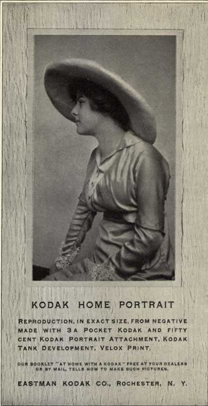 Kodak – Kodak Home Portrait (1913)
