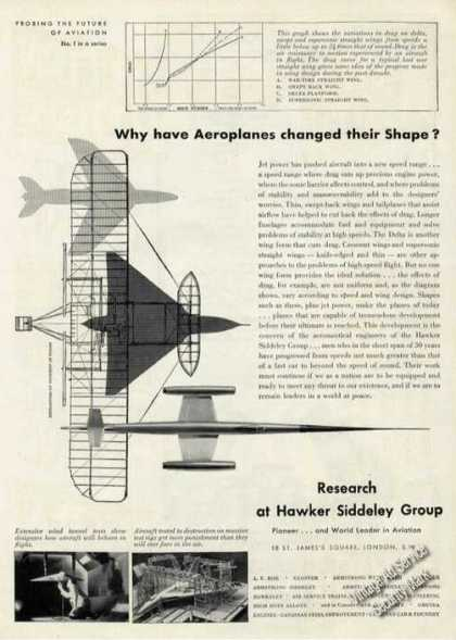 Research at Hawker Siddeley Future of Aviation (1956)
