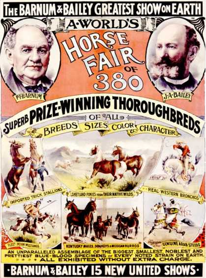 Barnum and Bailey, Horse Fair