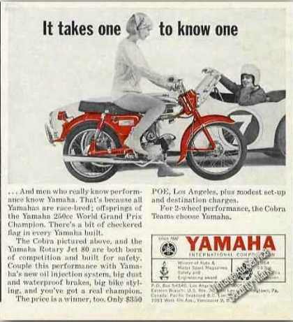 Yamaha Cobra Photo Motorcycle (1965)
