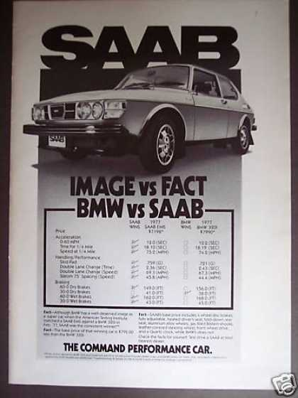 Saab Ems Wins Over Bmw Car (1977)