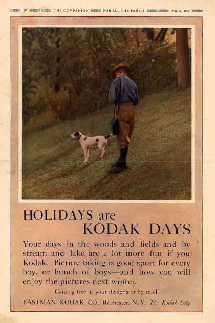 Kodak – Holidays are Kodak Days (1916)