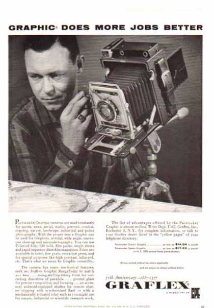 Graflex Camera – Pacemaker Graphic (1957)