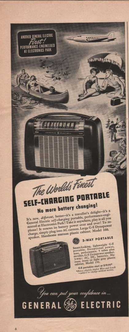 General Electric Portable Radio (1949)