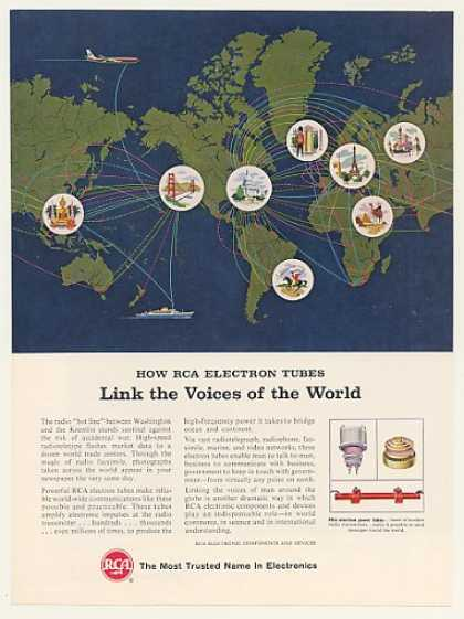 RCA Electron Tubes World Radio Communications (1964)