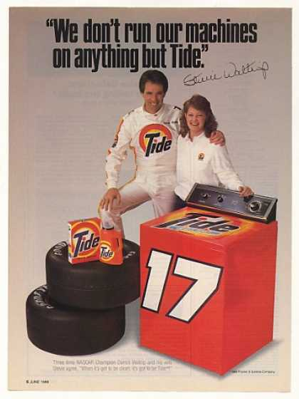 Darrell Stevie Waltrip Tide #17 Washing Machine (1988)