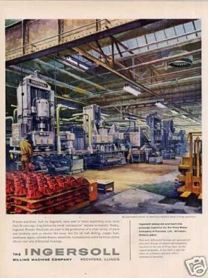 Ingersoll Milling Machine Company (1957)