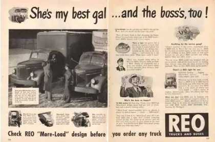REO Motors – She's my best gal… (1948)