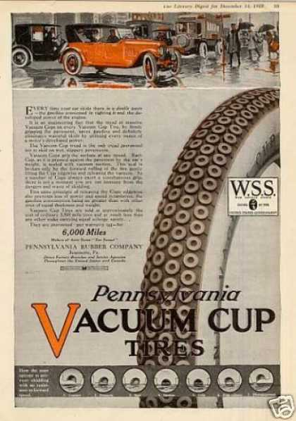 Pennsylvania Vacuum Cup Tire Color (1918)