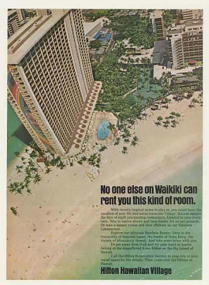 Hilton Hawaiian Village Hotel Waikiki Photo (1974)