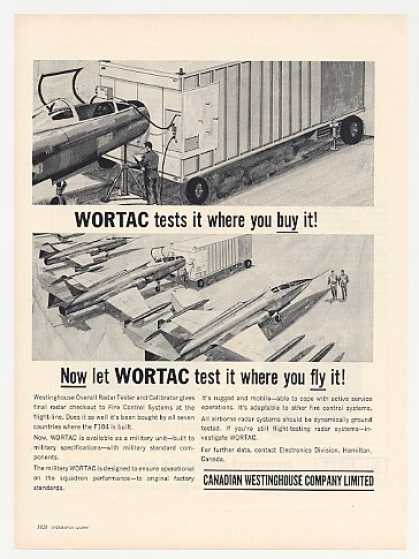 Canadian Westinghouse WORTAC Tester (1964)