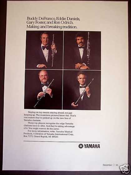 Yamaha Clarinet Famous Players Buddy Defranko (1979)