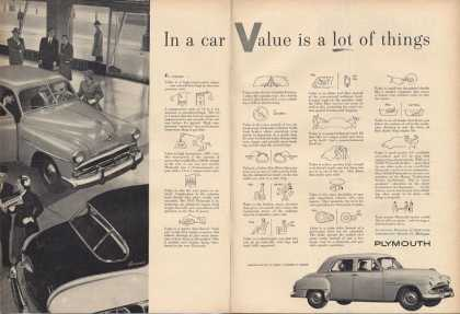 Plymouth Great 2 Page Car (1952)