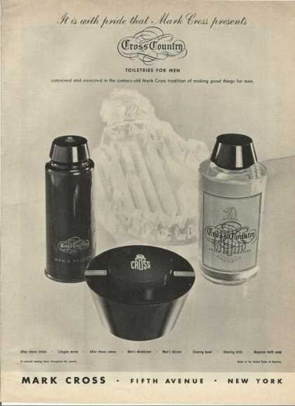 Cross Country Toiletries for Men (1946)