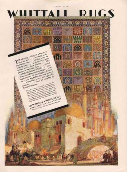 Whittall Oriental Anglo Persian Rugs Print (1929)
