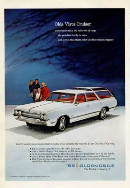 Oldmobile Olds Vista Cruiser Station Wagon (1965)